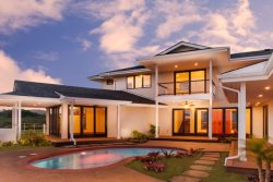 Brand New Luxury Poipu Beach Estates Home. 4BR, 3.5BA Sleeps 10, Heated Pool, Whole home AC, granite everywhere, wood floors