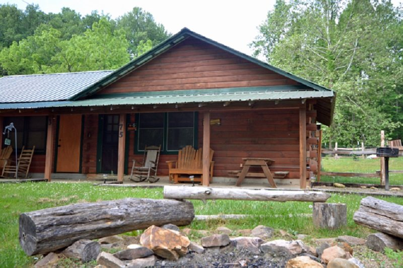 Oconaluftee River Cabin. Affordable Cabin Right On The ...