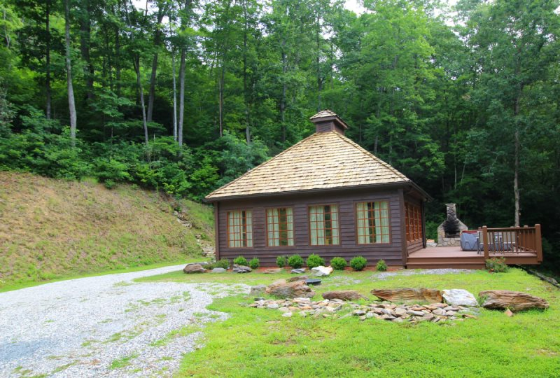 romantic honeymoon cabin secluded north carolina mountains