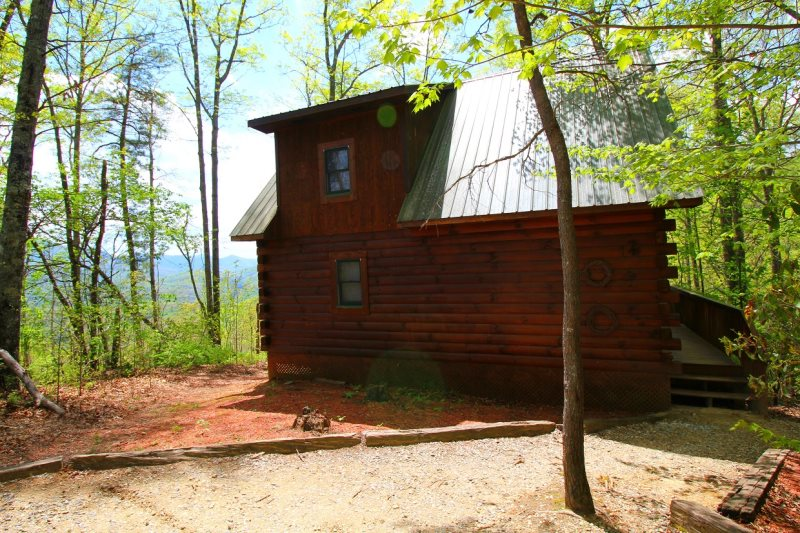 Great smoky mountains cabin rental near cherokee nc for Smoky mountain nc cabin rentals
