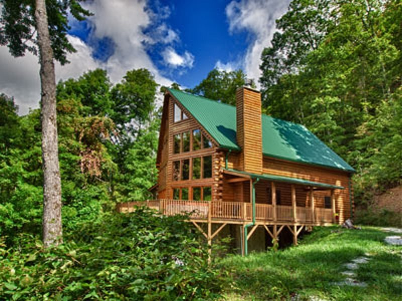 Chalet rental with mountain views bryson city nc for 8 bedroom cabins in north carolina
