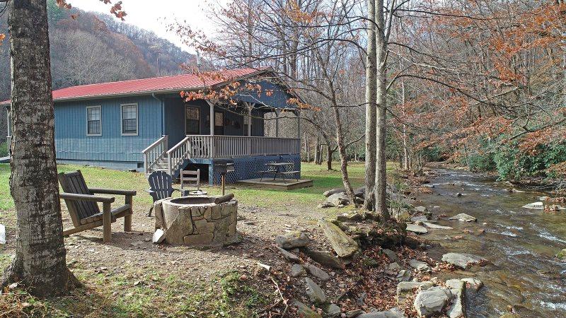North Carolina Mountain Fishing Cabin On Creek Wireless