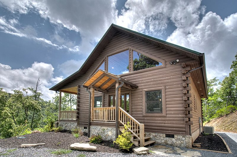 Luxury Log Cabin Rental In Smoky Mountains With View