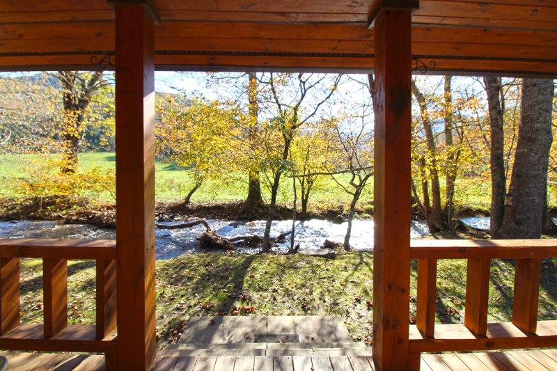Bryson City Cabin Rentals Creekside