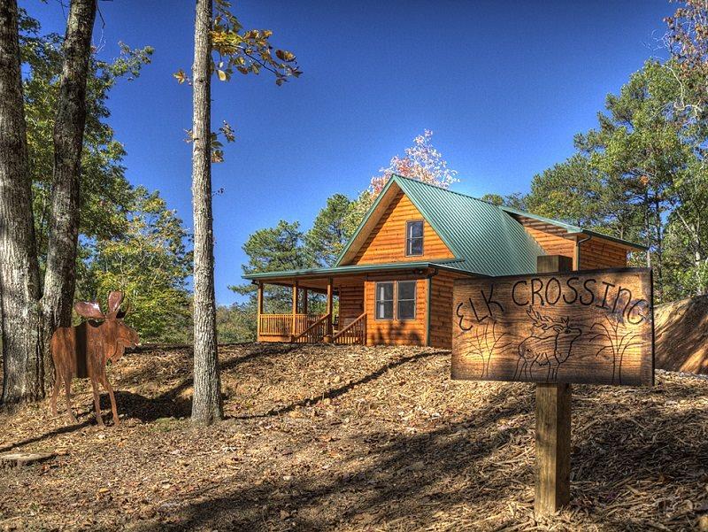 Mountain View Log Cabin Near Bryson City NC U0026 Great Smoky Mountains Railroad