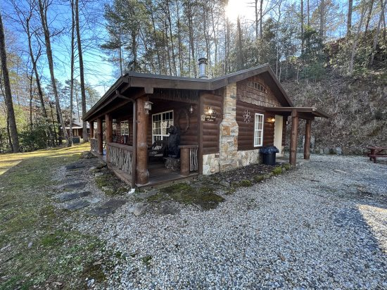 Romantic Log Cabin Rental Near Harrah S Casino In Cherokee Nc