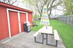 Picnic table to enjoy outdoor meals with the family