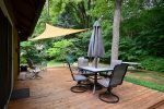 Enjoy the deck and the peaceful surroundings