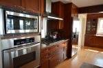 Fully equipped chefs kitchen