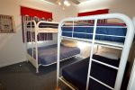 Bedroom 3 - Twin Bunks over Full Beds