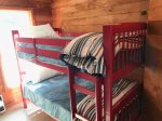 Great Bunk room for kiddos