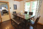 Large dining room table for the whole family