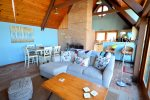 Views of Lake Michigan from the living room