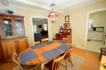 Big dining room table
