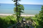 Grand Haven Vacation Rental with Private Lake Michigan Beach!