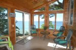 Large windows provide great viewing areas