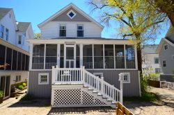Macatawa Vacation Rental within steps of Shared Private Lake Michigan Beach!