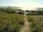 Shared Private Lake Michigan Beach Access .25 miles from home