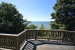 Bedroom 3 in Basement with Twin Bunk Beds and 1 Infant Bed