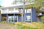 Shared Private Lake Michigan Beach Frontage with Great Deck