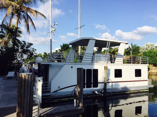 Ft Lauderdale Lodging Brand New 2 Bedroom Houseboat Vacation