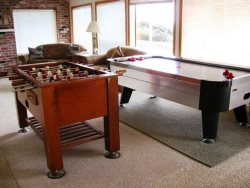 Pacific Villa - Lower Level - Foosball and Air Hockey tables