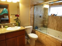Ocean Dream - Bathroom 2 off bedroom 1 main floor