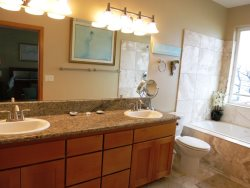 Ocean Dream - Master Bath with duel vanity