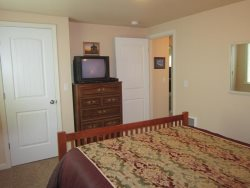 Ambers Point Of View - Bedroom 1 - Closet and TV