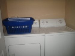 Ambers Point Of View - Hallway - Washer and Dryer