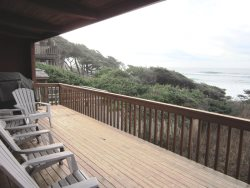 Oceanfront Oasis - Deck with View