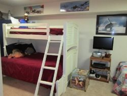 Captain Jacks - Lower Level - Bedroom 3 - TV and Play Room