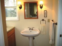 Cottage By The Sea - 2nd Floor - Bedroom 2 - Private Sink