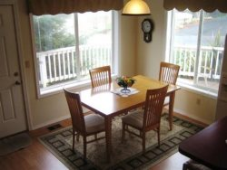Cottage By The Sea - 1st Floor - Dining Table