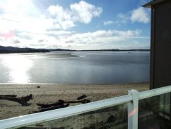 Dock Of The Bay 308 - Balcony View - Siletz Bay