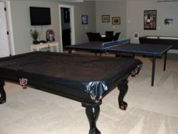 The Spindrift House - Lower Level - Pool Table  Poker Table -- Ping Pong Table Removed