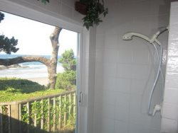 Great Escape - Master Bathroom - Open Shower With View