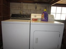 By George - Washer and Dryer in Garage