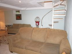 Ocean Breeze - Lower Level Sleeping Area with 2 Queen Sofa Sleepers