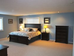 Ocean Breeze - Upper Level Master Bedroom with King bed, photo 1
