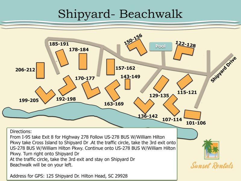 208 Beachwalk Shipyard Hilton Head Sunset Rentals