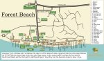 Forest Beach map