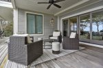 Sitting Area on the deck- Entry Level