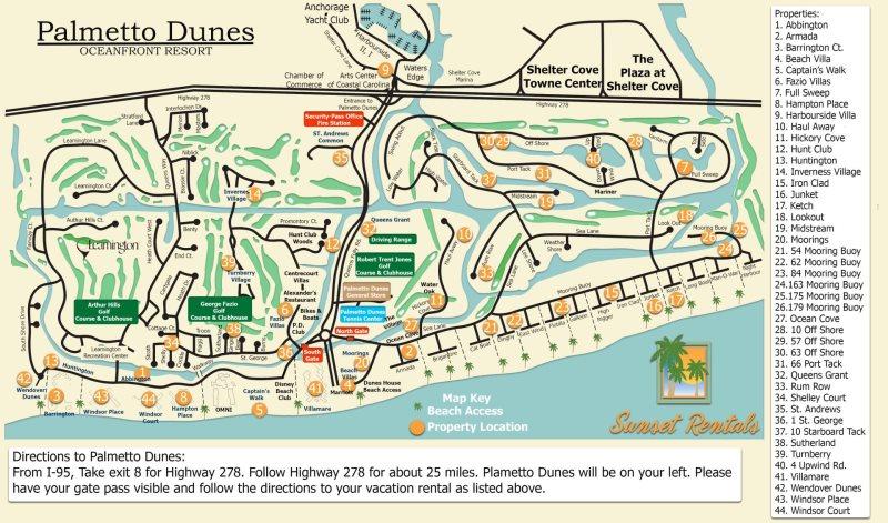 308 Windsor Place - Palmetto Dunes - Hilton Head - Sunset