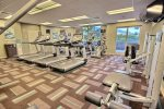 Honua Kai`s onsite fitness center will meet nearly all of your basic workout needs.