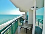Oceanfront Balcony View