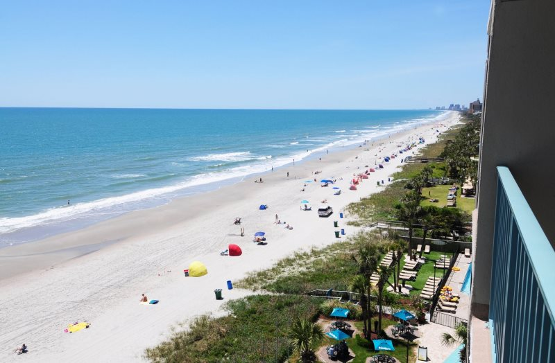 oceanfront 1 bedroom condo- sand dunes resort