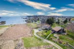 View of Lowell`s Cove From the Front of the House