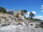 New Stairs to the Pebbly Beach