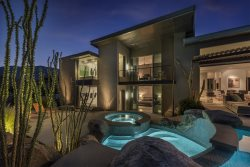 Head to this Contemporary Perched on a Canyon Gorge